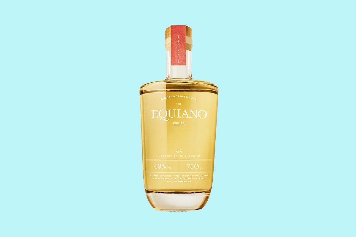 Equiano Light, a new golden light rum
