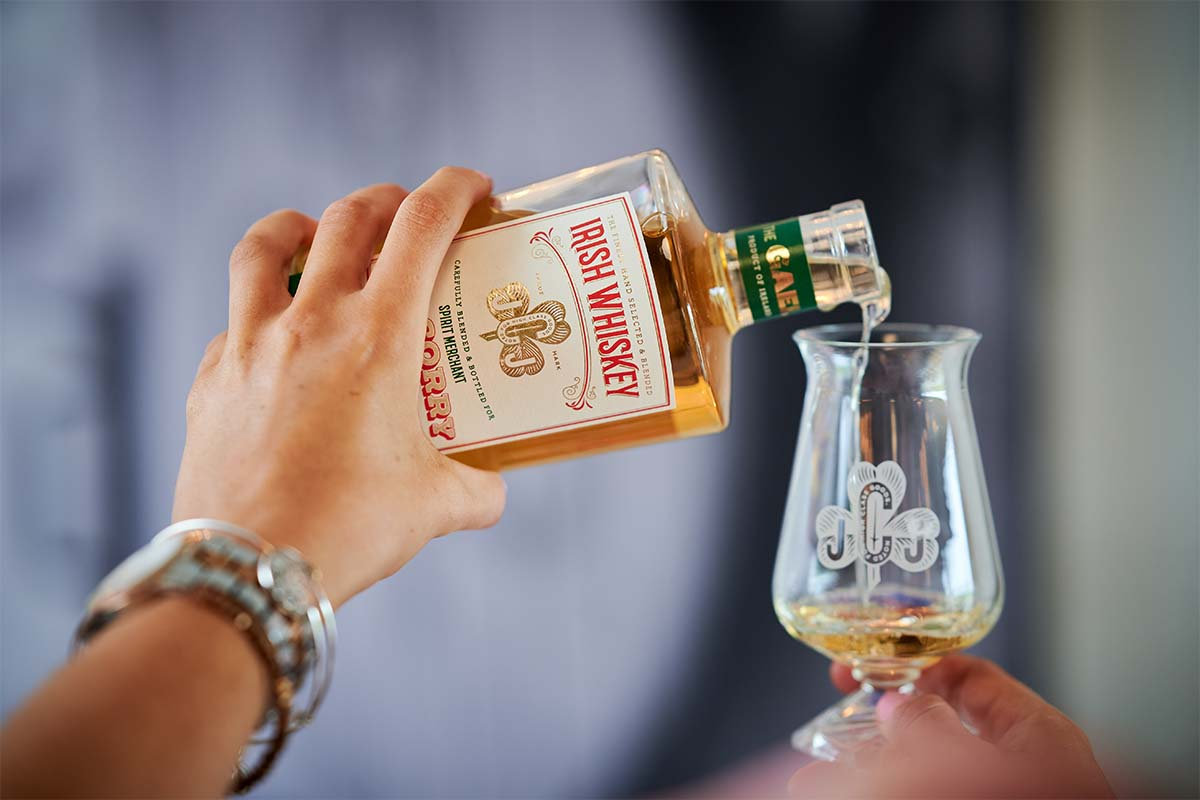 The Gael by JJ Corry Irish Whiskey