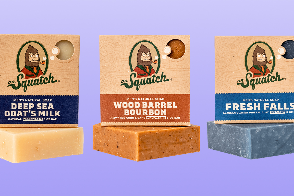 dr. squatch bar soap