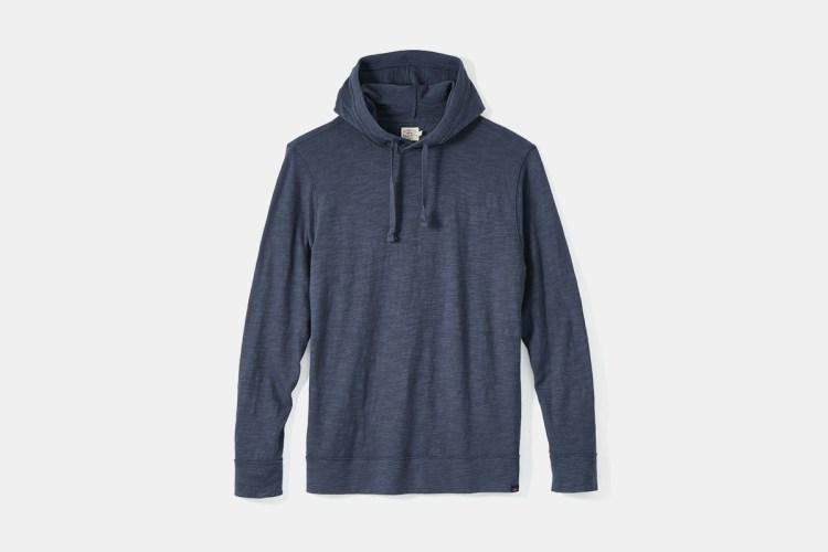 faherty slub hoodie