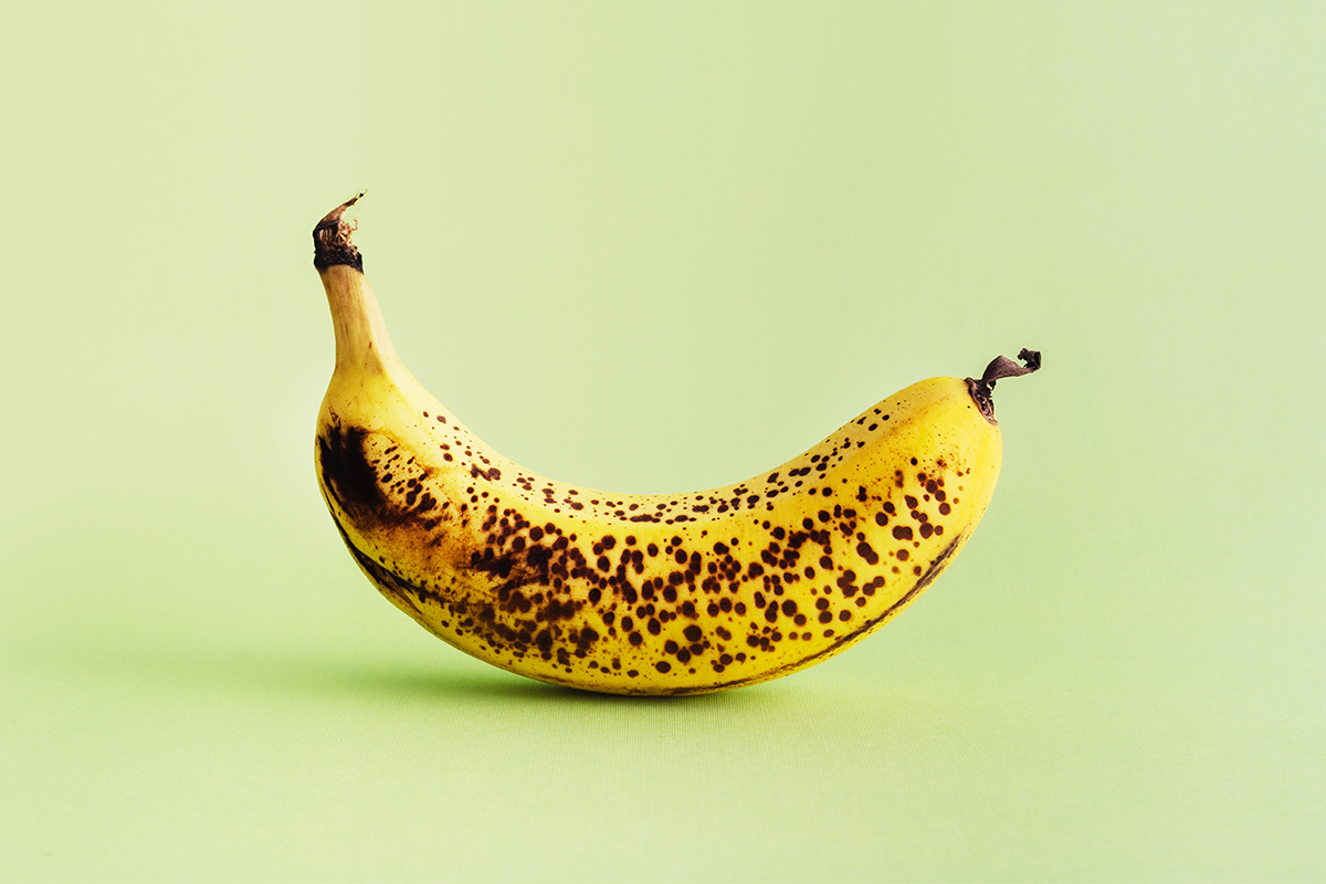 Is a Banana with brown spots most nutritious?