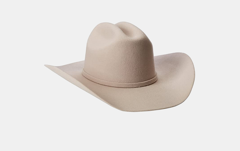 Justin 3X Rodeo Hat in Light Tan/Ivory