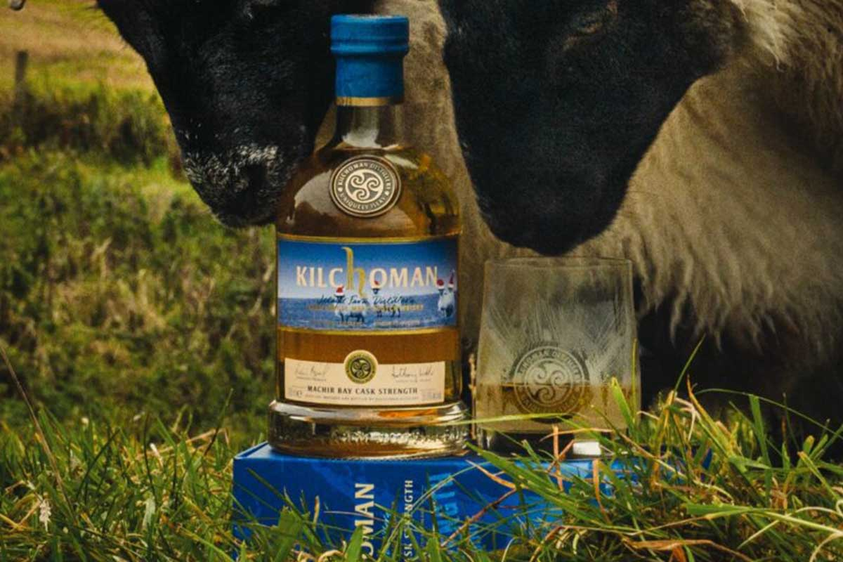 Kilchoman Machir Bay Cask Strength, the winner of the 2021 Ultimate Spirits Challenge