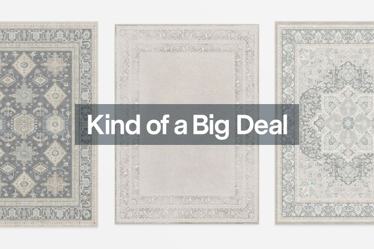 Ruggable rugs, all of which are on sale for the brand's birthday