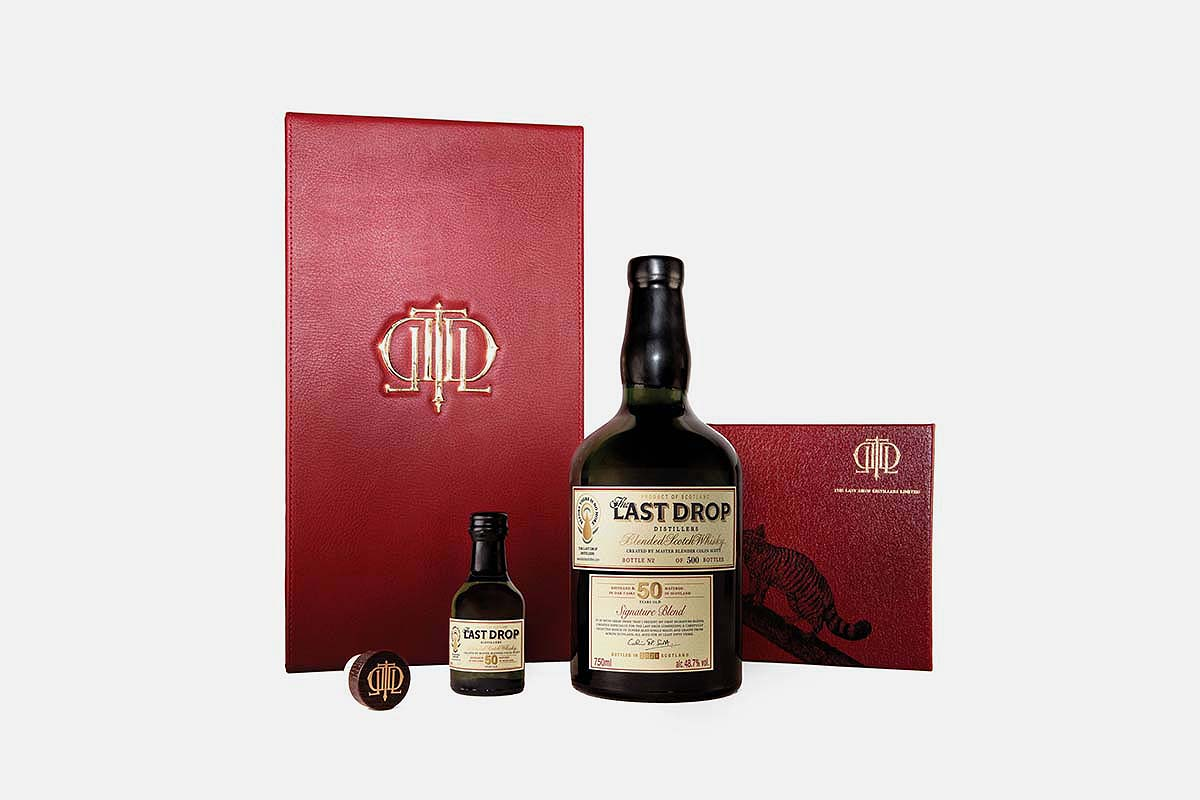 50 Year Old Signature Blended Scotch Whisky by The Last Drop Distillers