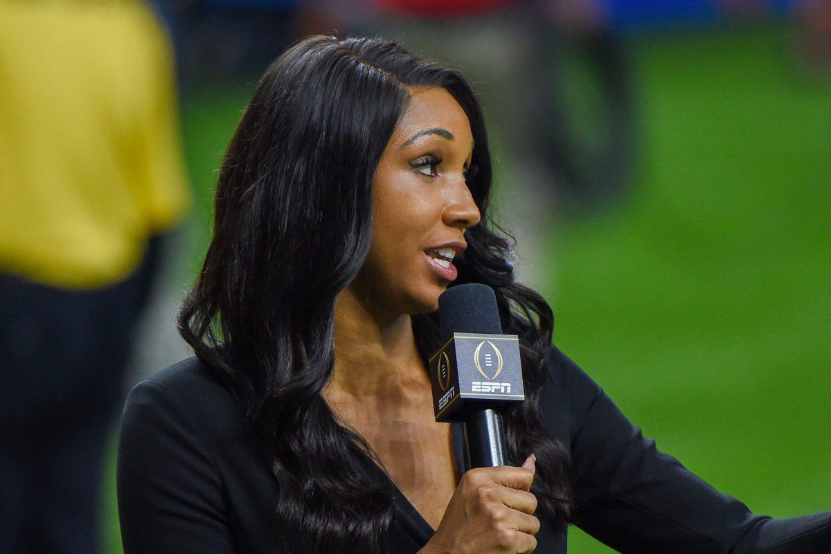 ESPN analyst Maria Taylor