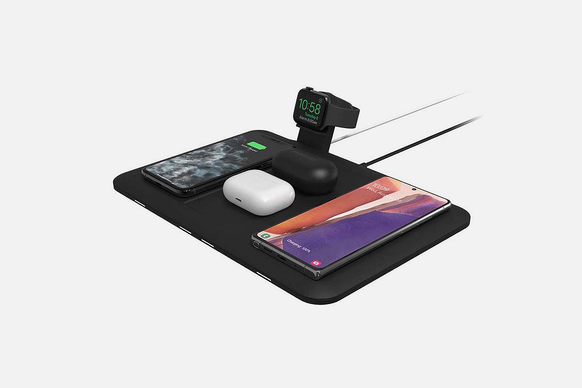 4-in-1 wireless charging mat