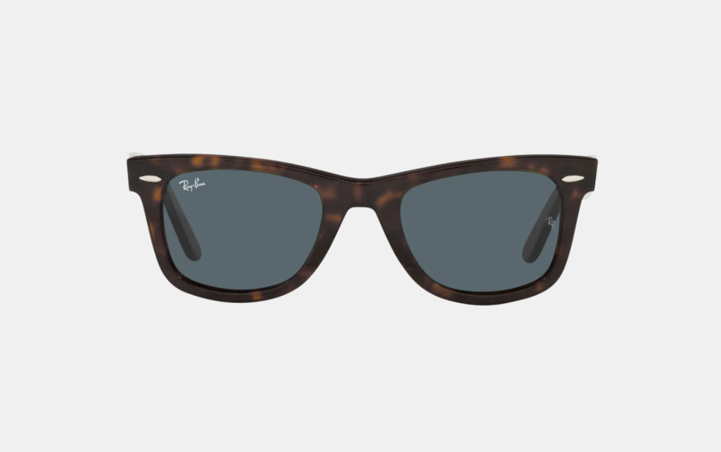 Ray-Ban 50mm Wayfarer Sunglasses in Havana Blue
