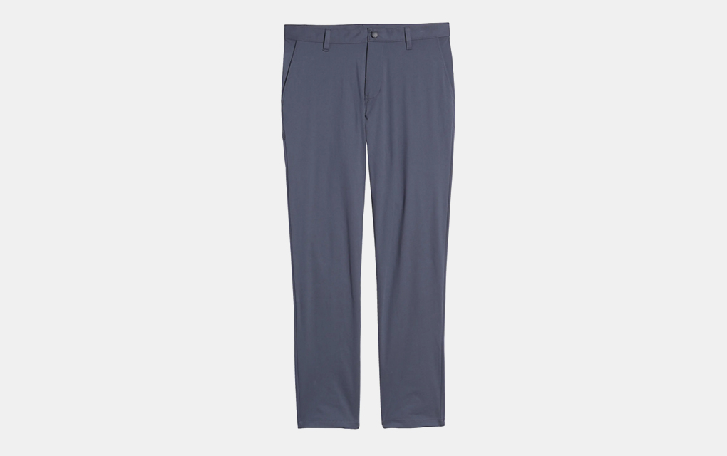 Rhone Commuter Slim Fit Pants in Iron