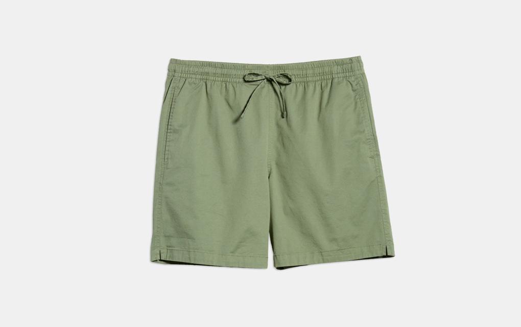 "Bonobos Anywhere 7"" Shorts in Olive"