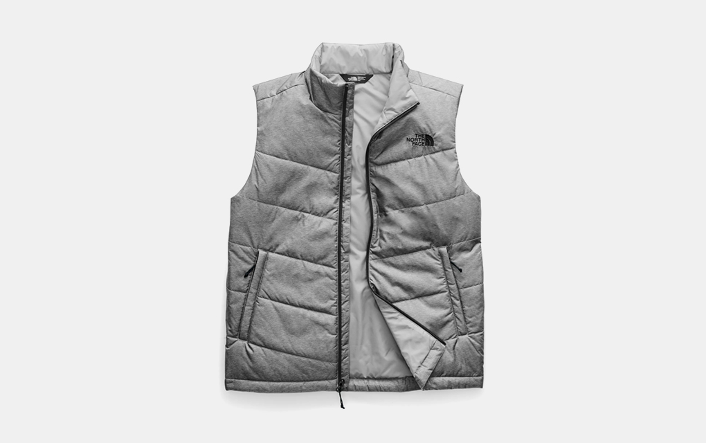 The North Face Junction Heatseeker Eco Vest in Grey