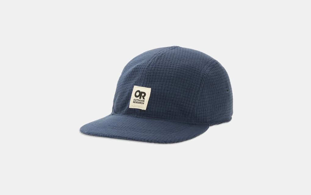 Outdoor Research Trail Mix Logo Baseball Cap in Naval Blue