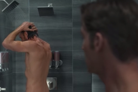 """The now infamous shower scene from Netflix's """"Sex/Life"""""""