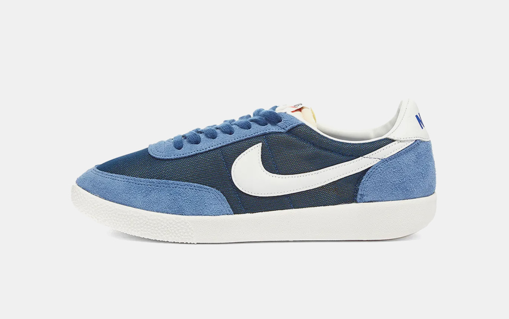 Nike Killshots in Coastal Blue, White and Stone