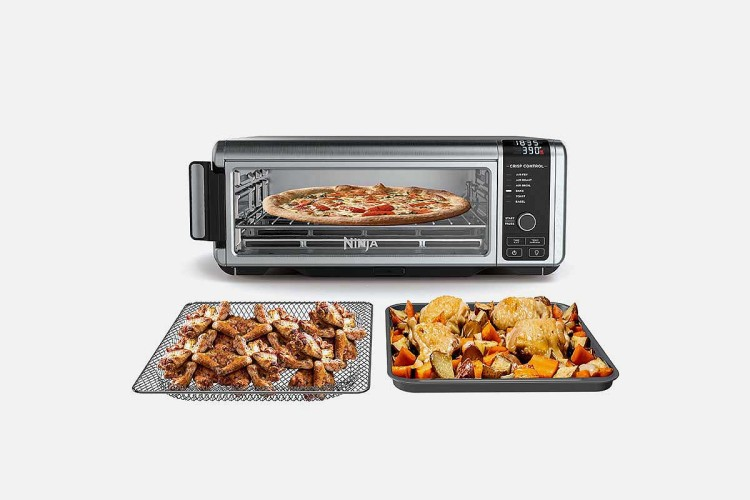 Ninja SP100 6-1 Digital Air Fry Oven with Convection can cook pizza or wings, now 40% off at Woot