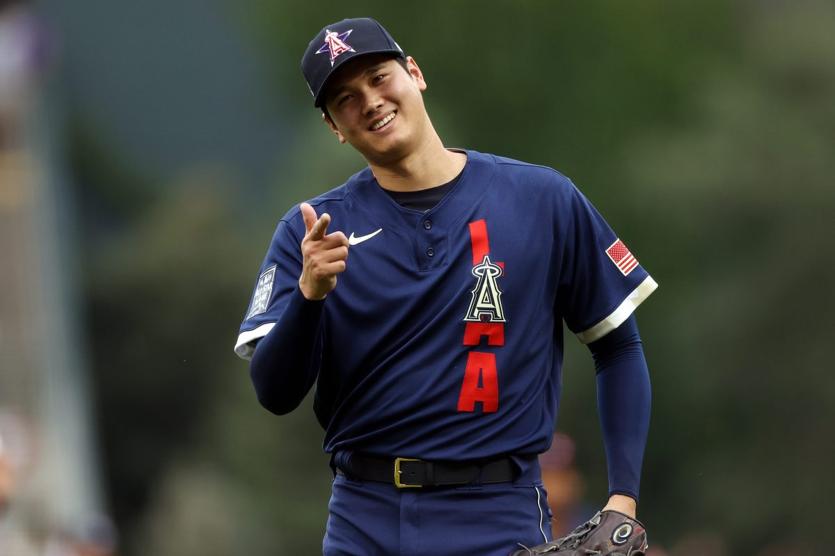 Shohei Ohtani during the 91st MLB All-Star Game