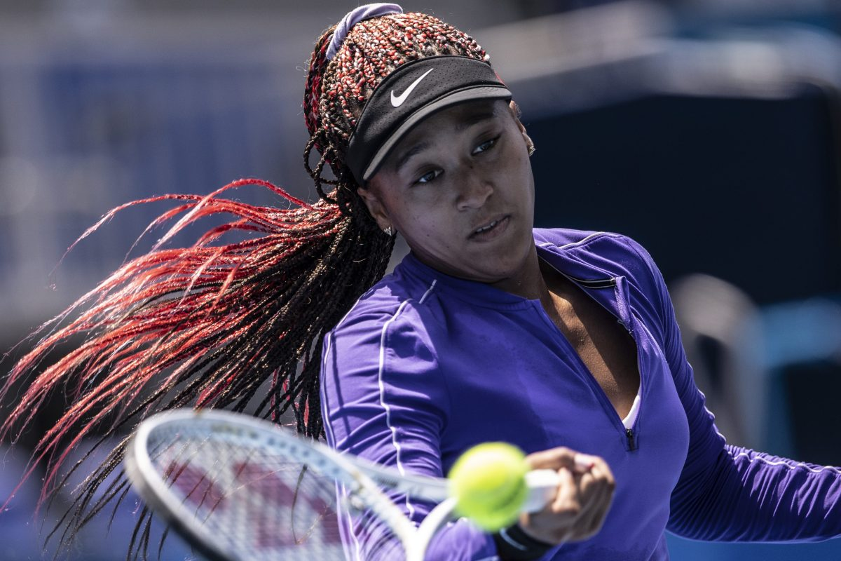 Tennis player Naomi Osaka of Team Japan. Megyn Kelly recently lashed out at Osaka on Twitter about the athlete's Sports Illustrated Swimsuit Issue cover.