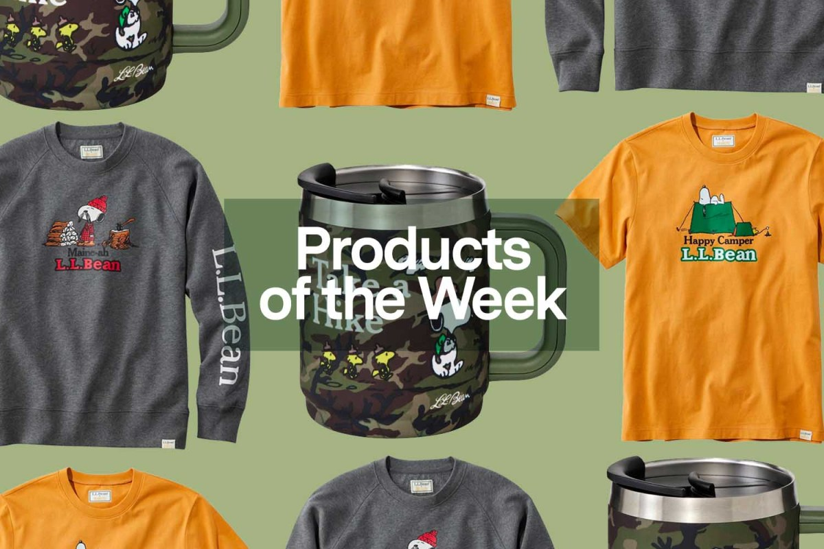 Products of the Week: Fleabag-Inspired Gin, Shinola Sunglasses and an L.L.Bean x Peanuts Collection