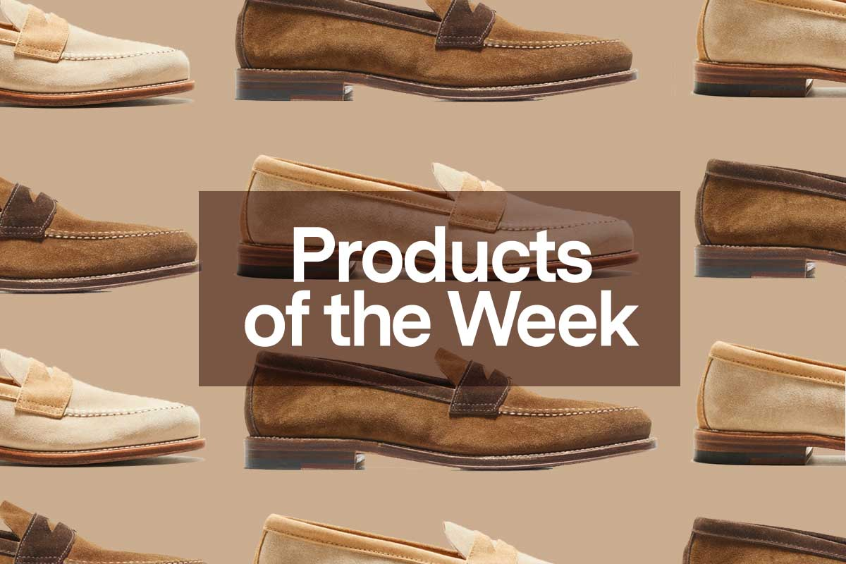Two-tone penny loafers from Alden and Todd Snyder, just one of our favorite products of the week at InsideHook