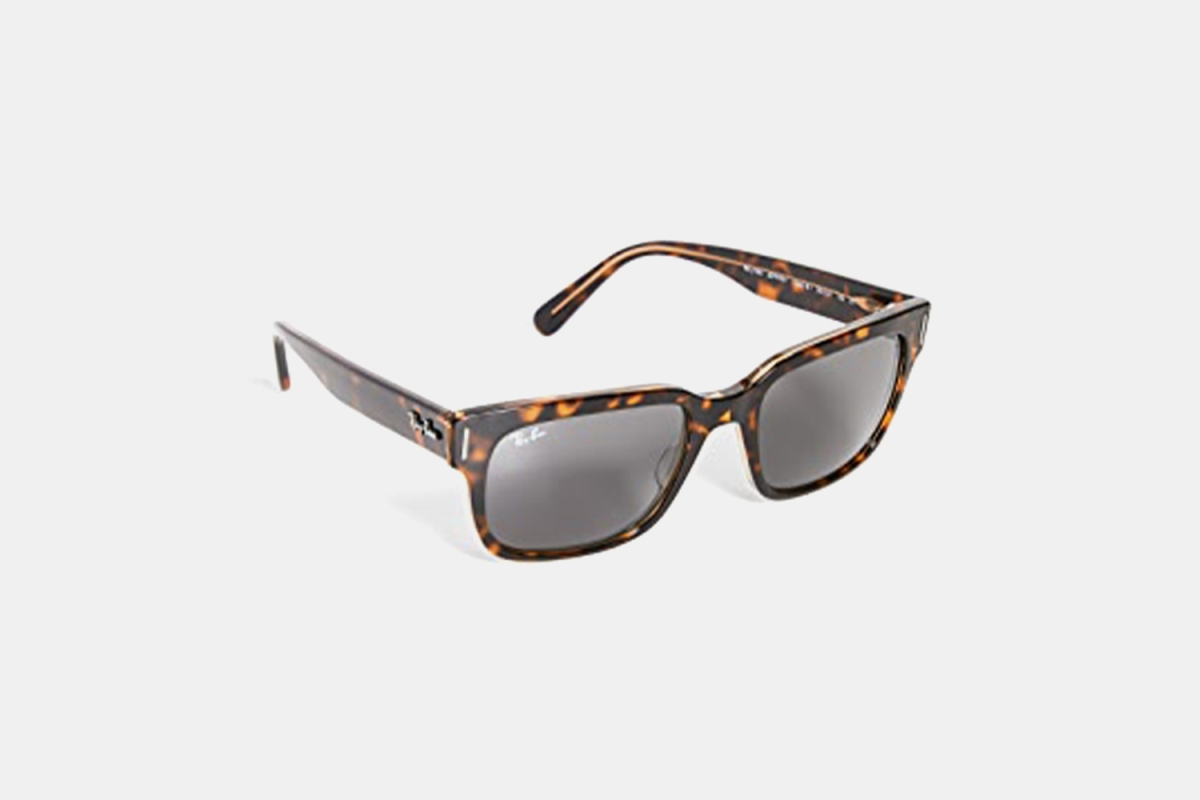 Ray-Ban RB2190 Jeffrey Sunglasses in Tortoiseshell