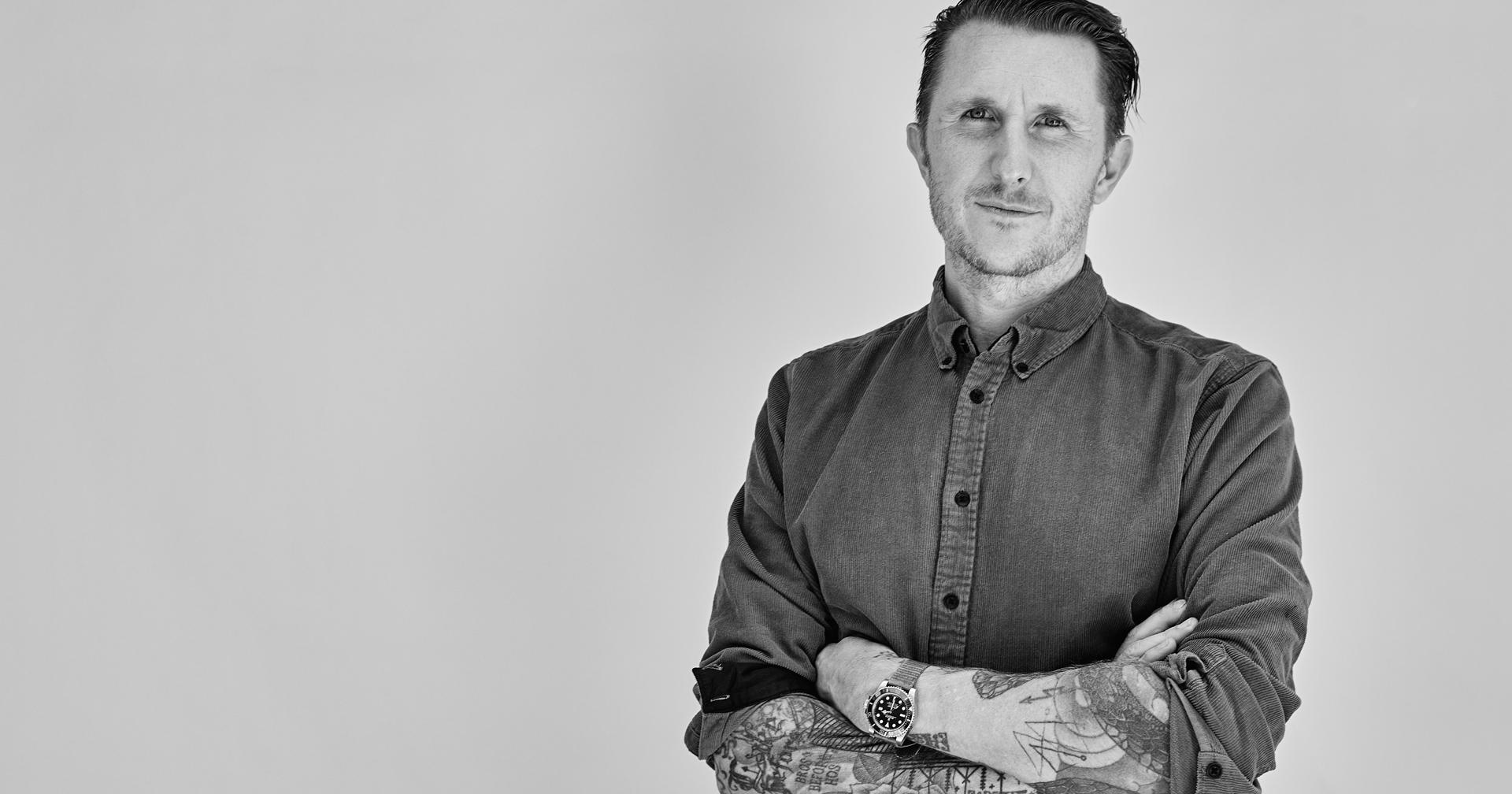 Famed tattoo artist Scott Campbell