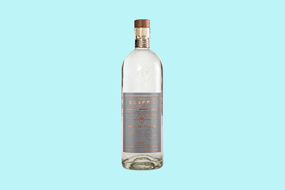 a bottle of Severo Plata