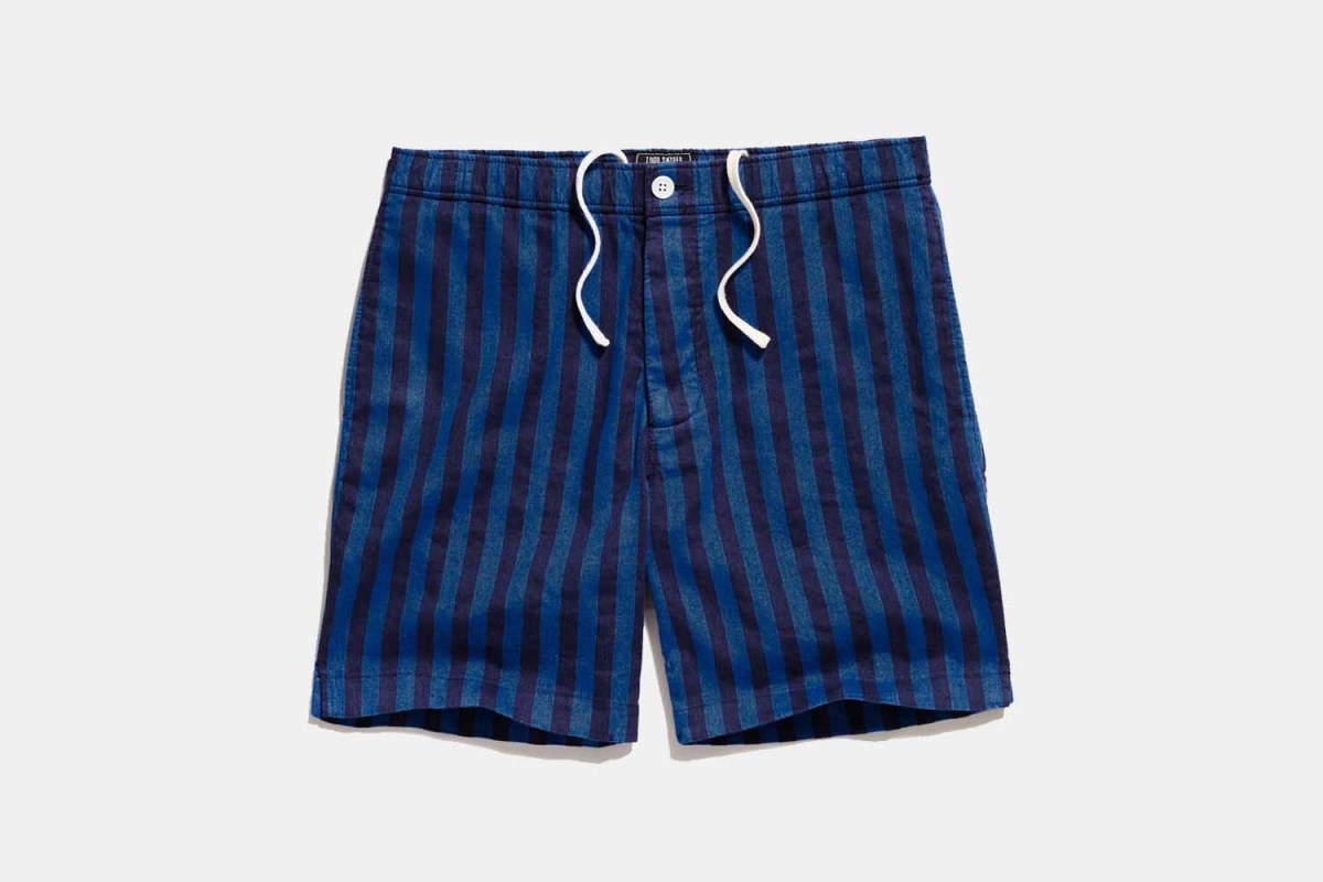 Deal: These Laid-Back Striped Bahama Shorts Are on Sale