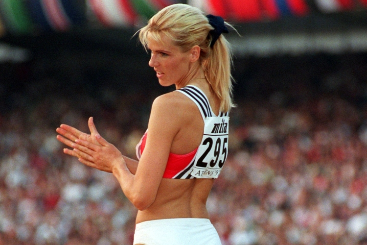 """German Olympic long-jumper Susen Tiedtke. The former Olympian said that it's a """"laughingstock"""" to try to ban sex in the Olympic Village."""