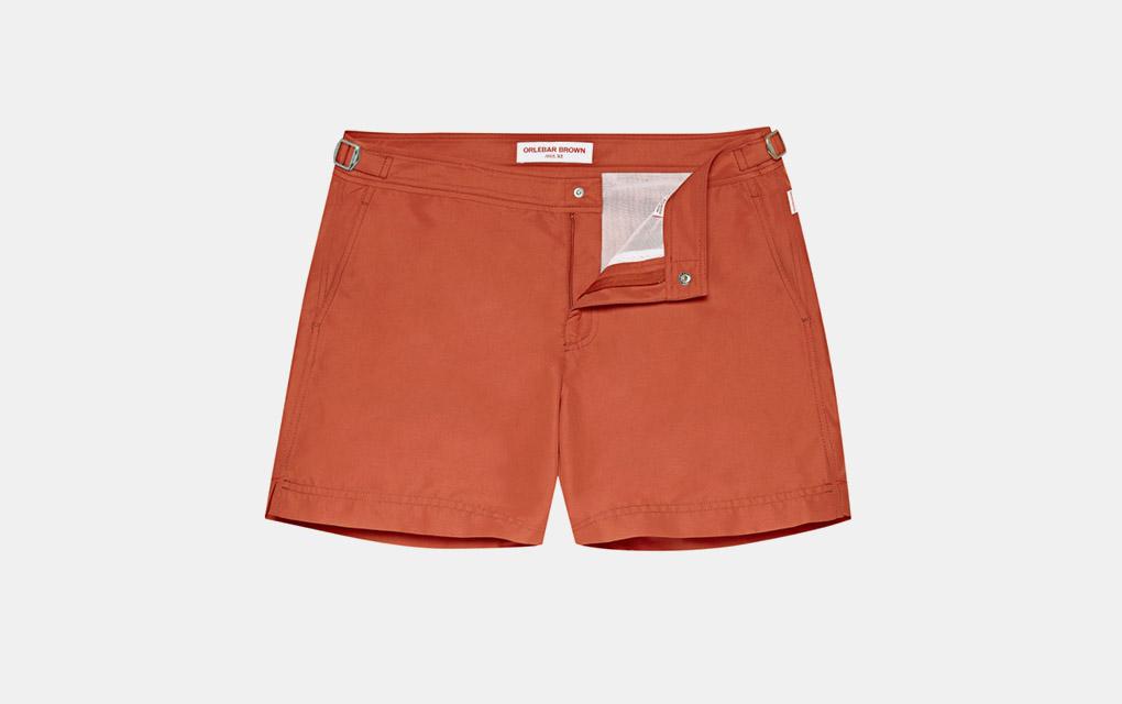 Orlebar Brown Setter Swim Shorts in Vintage Rose