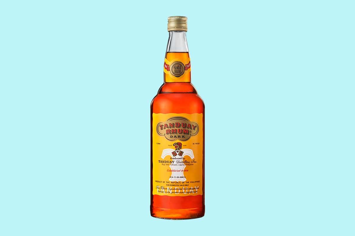 Tanduay rum, the world's best-selling rum