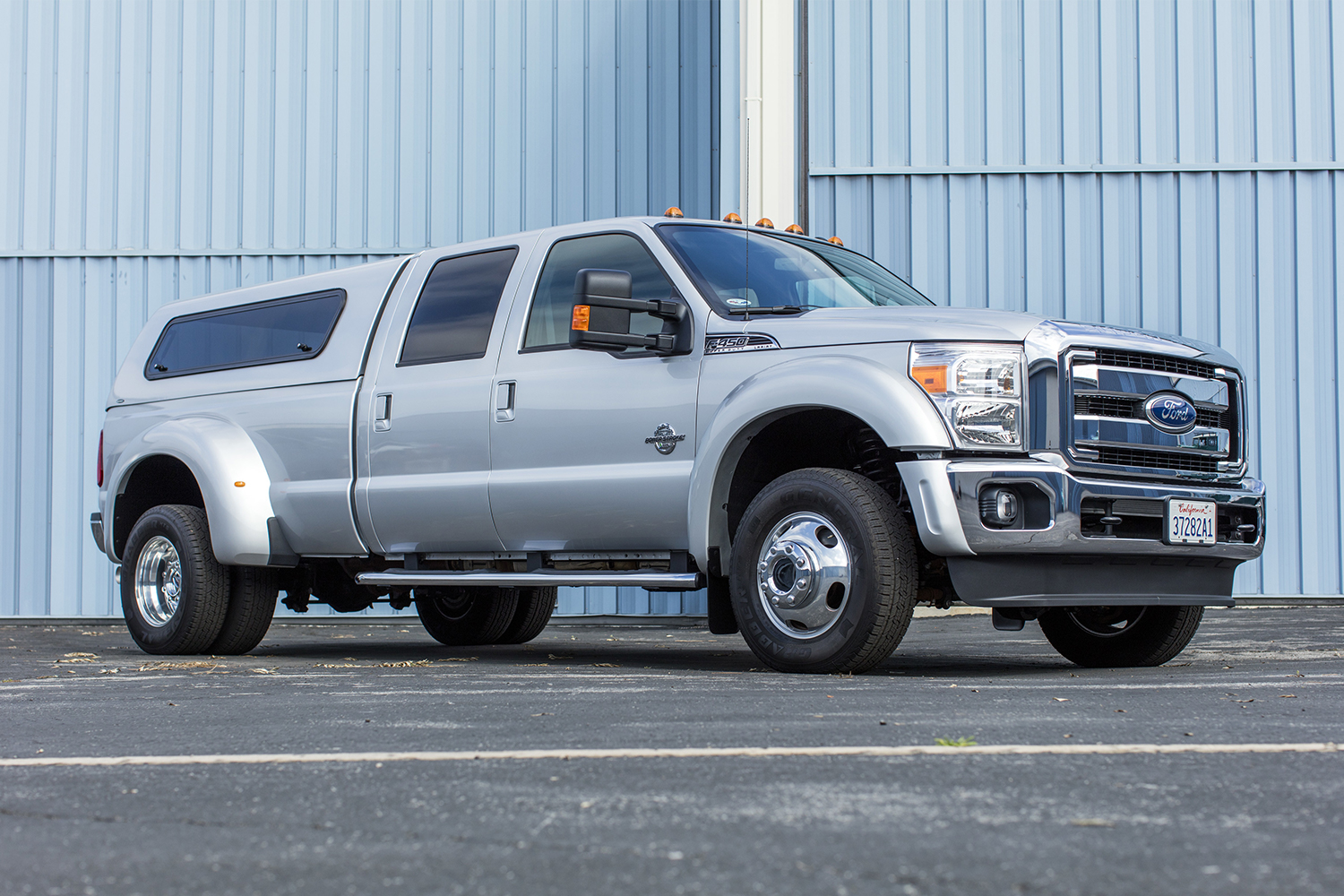 The 2011 Ford F-450 Super Duty Crew Cab Lariat Pickup owned by Tom Hanks. It will sell at the Bonhams Quail Lodge Auction as part of Monterey Car Week.