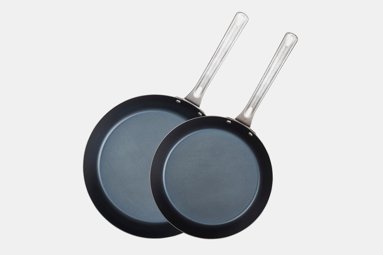 Viking Carbon Steel Frying Pans (Set of 2)