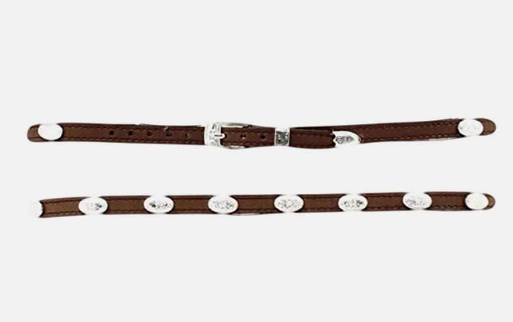 M&F Western Long Oval Conch Hatband