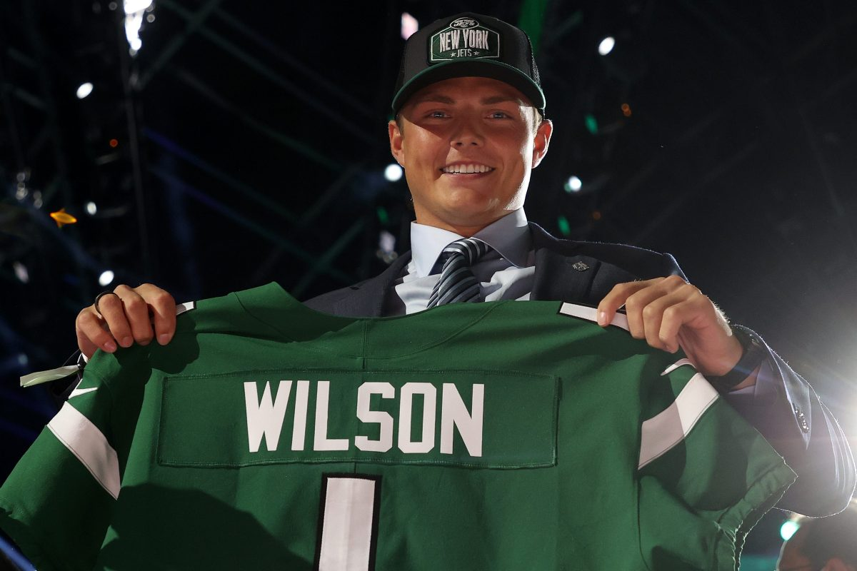 Zach Wilson after being drafted second in the NFL draft. Zach's mom Lisa has taken some heat for recent Instagram posts.
