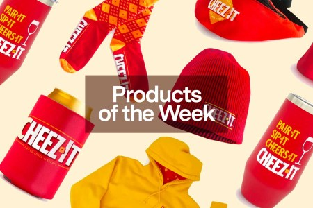 Products of the Week: Cheeze-It Merch, Pontoon Boats and Boozy Mountain Dew