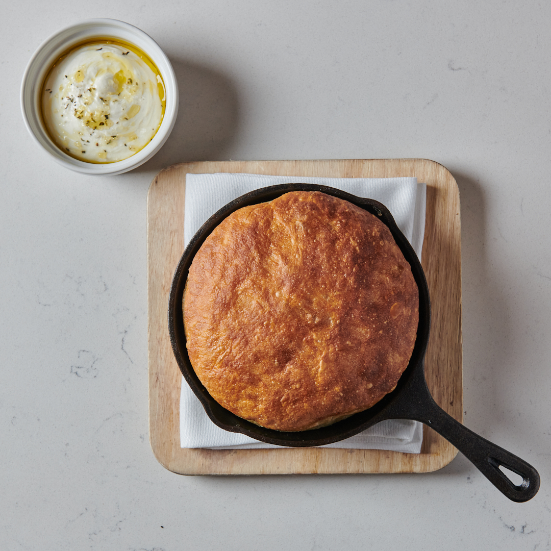 Sourdough Focaccia from American Brass in Long Island City in Queens