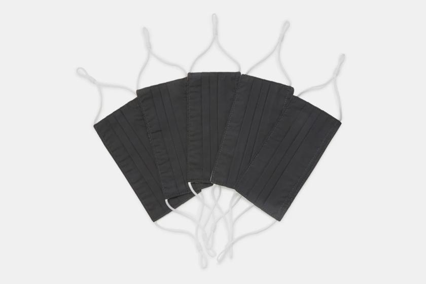 Caraa Universal Adult Masks, 5-Pack