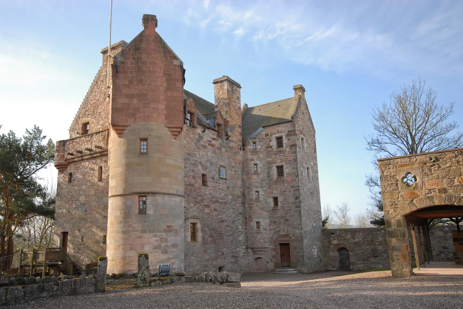 Dairsie is an independent historic castle located in Fife