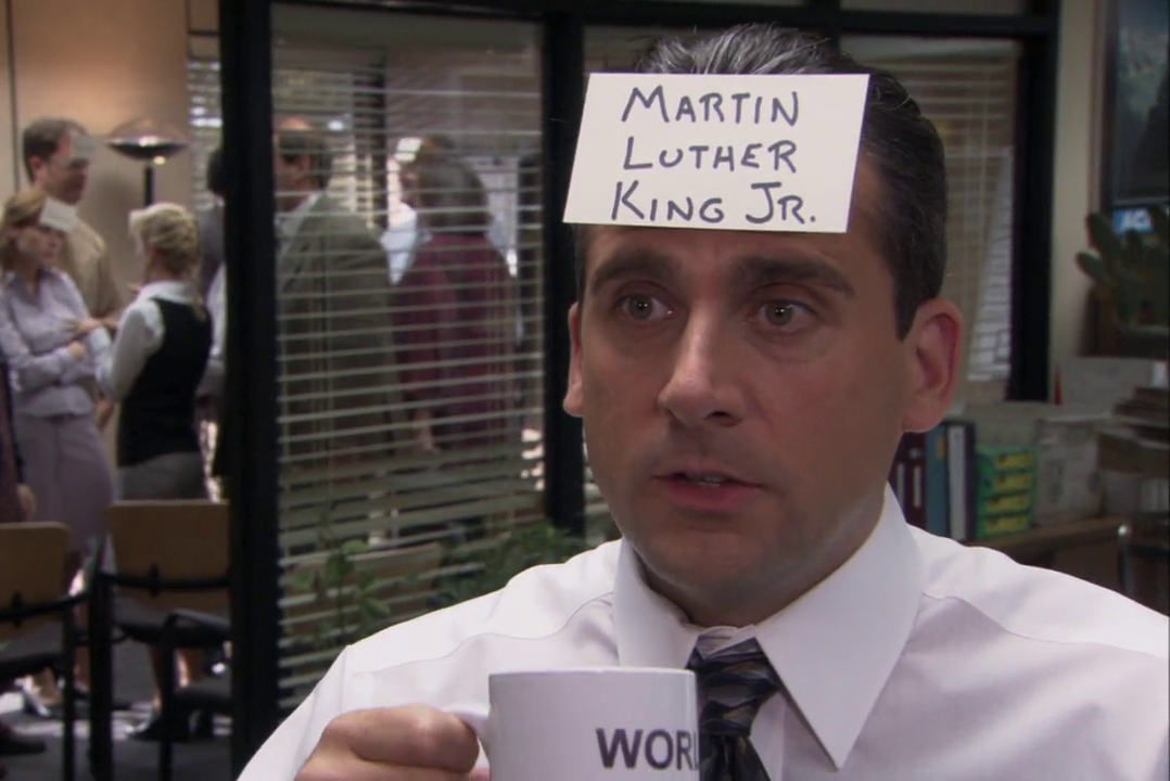 """Steve Carell as Michael Scott in The Office's """"Diversity Day"""" episode, which was recently pulled from a Comedy Central marathon of episodes"""