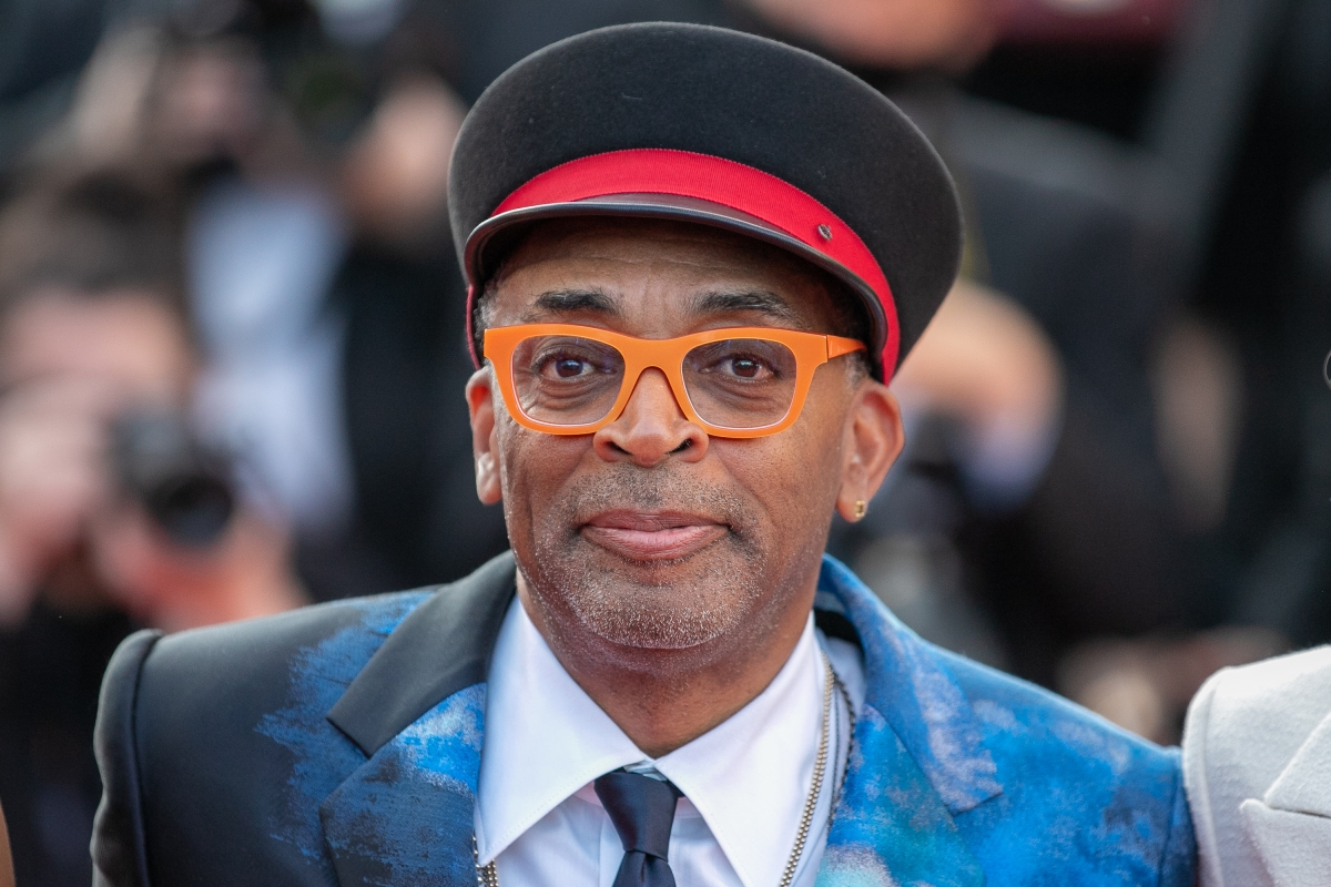 """Spike Lee attends the final screening of """"OSS 117: From Africa With Love"""" and closing ceremony during the 74th annual Cannes Film Festival on July 17, 2021 in Cannes, France. The director recently said he is recutting the final episode of his HBO 9/11 docuseries after criticism about conspiracy theories."""