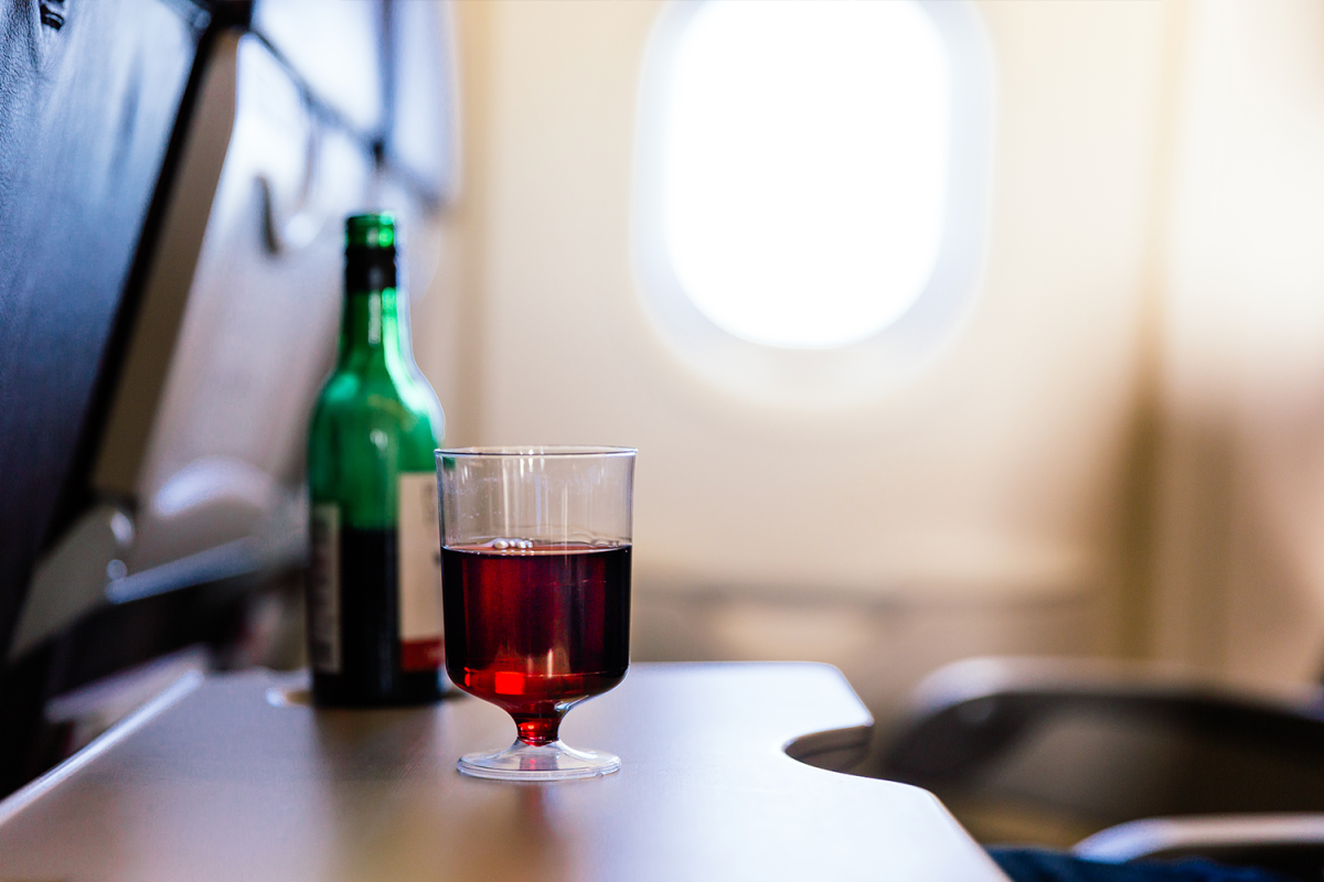 American Airlines Is Extending Their In-Flight Alcohol Ban … But Only in Economy