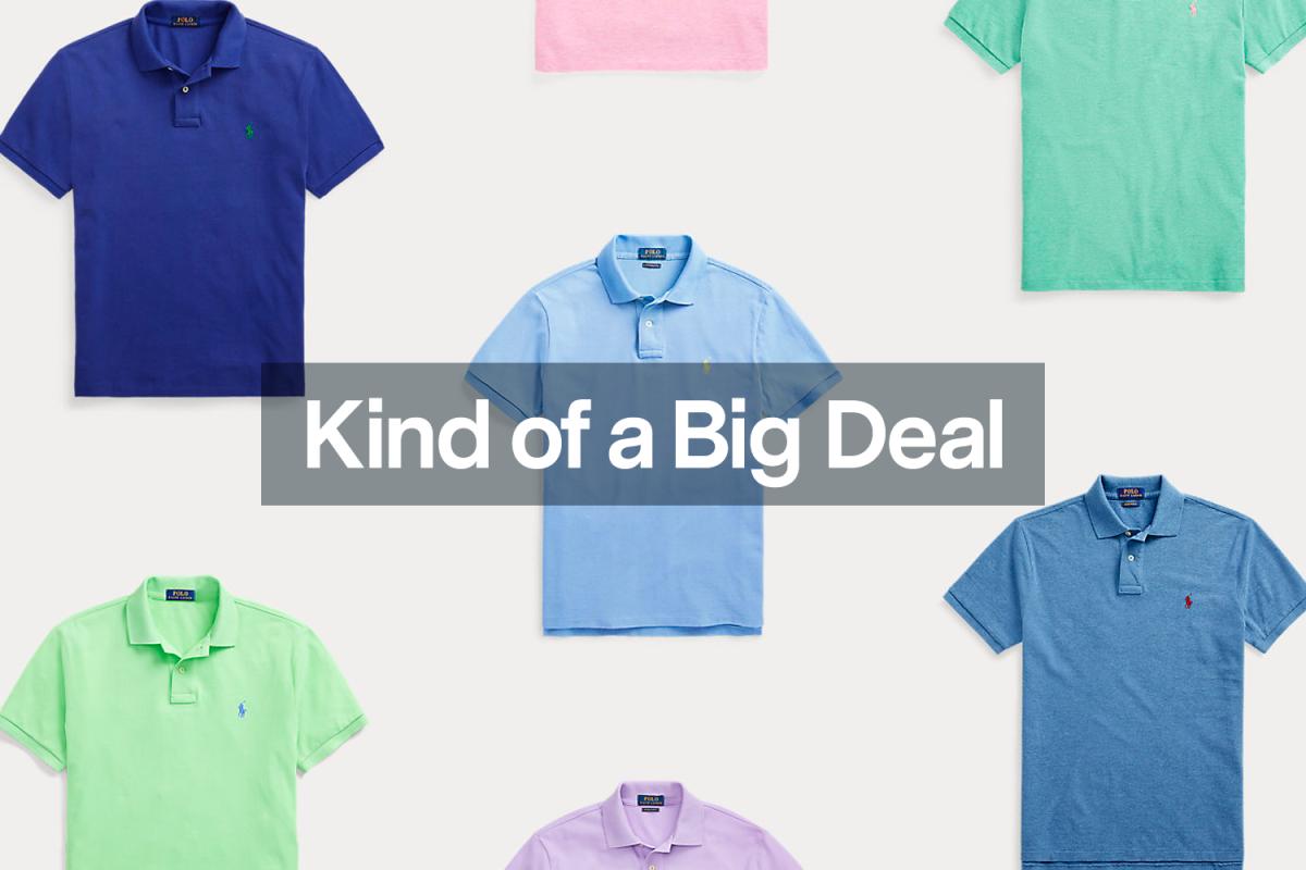 Save $35 on Ralph Lauren's Iconic Mesh Polo Shirt