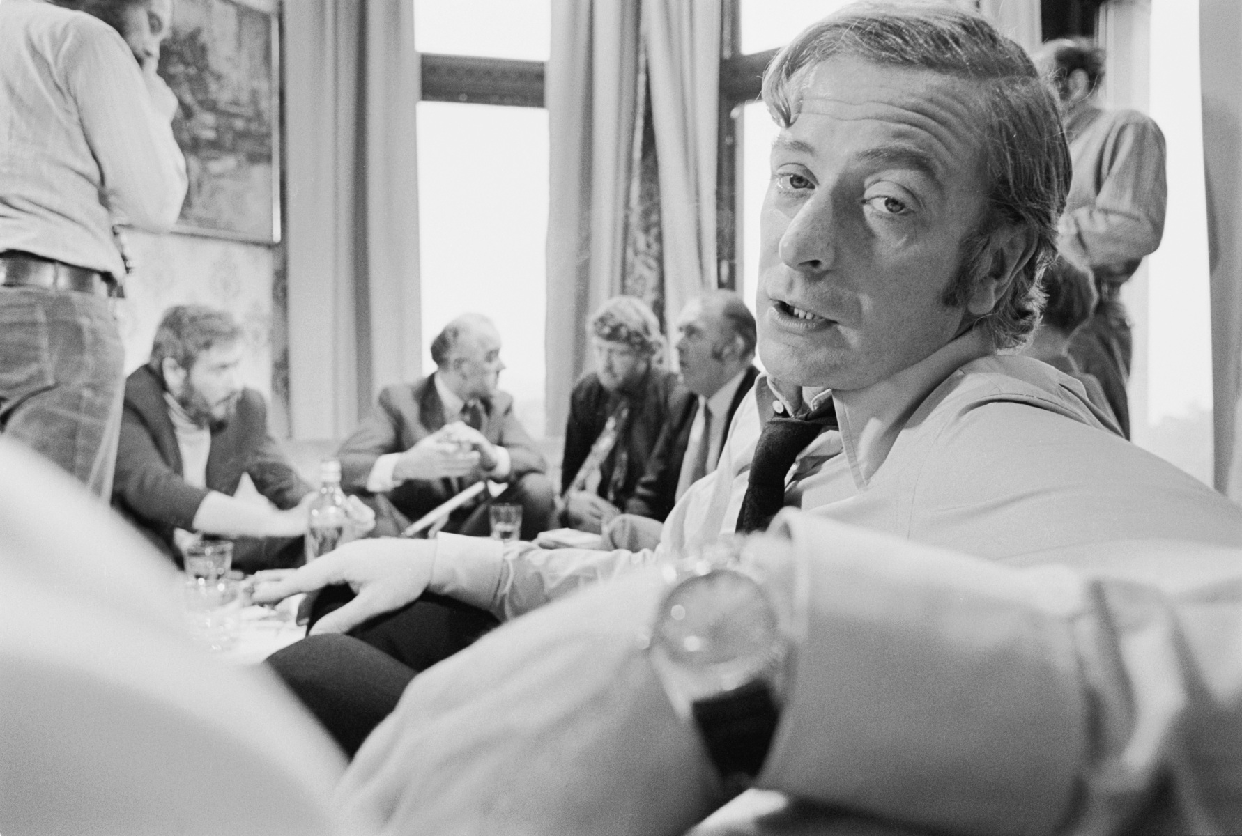 """Michael Caine in """"Get Carter."""""""