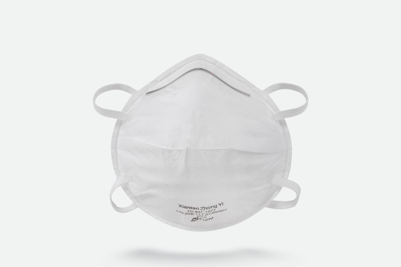 NIOSH Cup Style N95 Respirator Mask