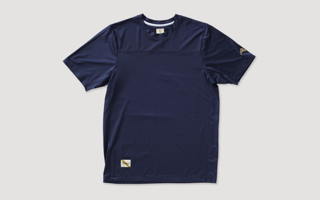 The Tracksmith Twilight Tee is one of the best men's running tees for road running and trail running in warm weather