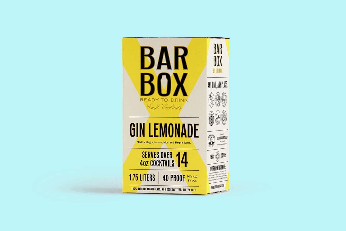 BarBox Gin Lemonade in a box