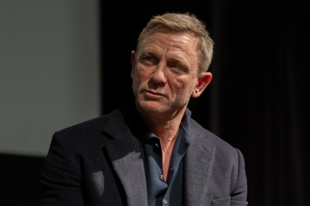 """Daniel Craig attends a screening of """"Casino Royale"""" at the Museum of Modern Art on March 3, 2020. The James Bond actor called inheritances """"quite distasteful"""" in a new 2021 interview with Candis magazine."""