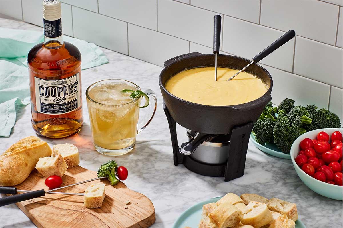Di Bruno Bros. & Coopers' Craft Bourbon Cheese Fondue