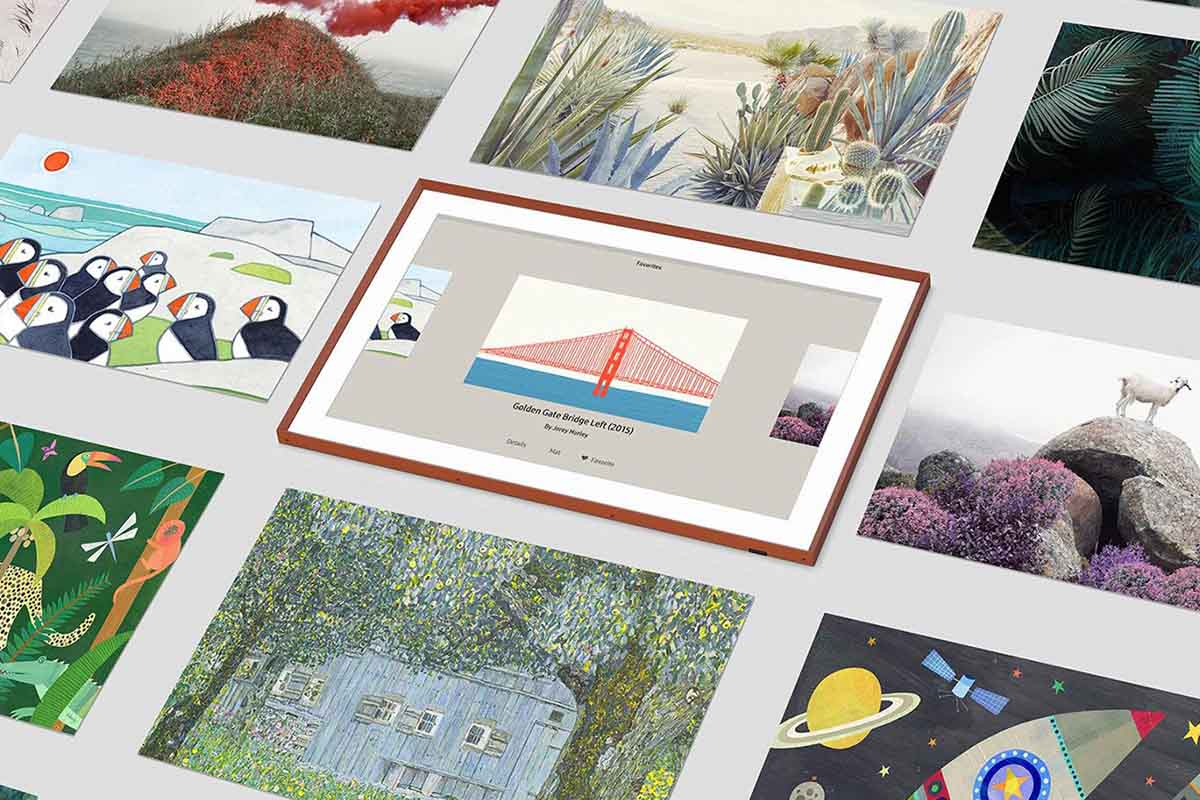 artwork selections for Samsung's The Frame TV