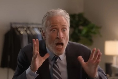 """Jon Stewart returns to TV with his new Apple TV+ show """"The Problem With Jon Stewart"""""""